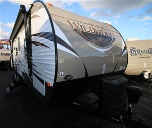 New 2016 Forest River Wildwood 28DBUD Travel Trailer For Sale
