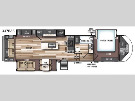 Floor Plan : 2019-FOREST RIVER-337BAR
