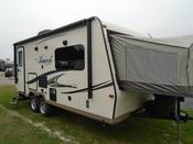 New 2016 Forest River FLAGSTAFF SHAMROCK 21DK Hybrid Travel Trailer For Sale