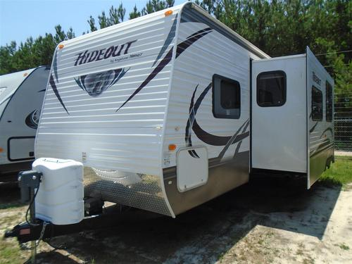 Used 2012 Keystone Hideout 27DBS Travel Trailer For Sale