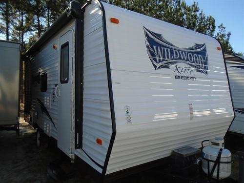 Used 2015 Forest River Wildwood 174BHXL Travel Trailer For Sale