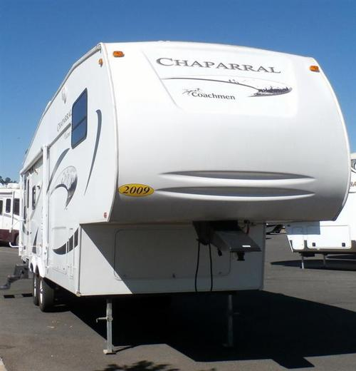Used 2008 Coachmen Chaparral 277DS Fifth Wheel For Sale
