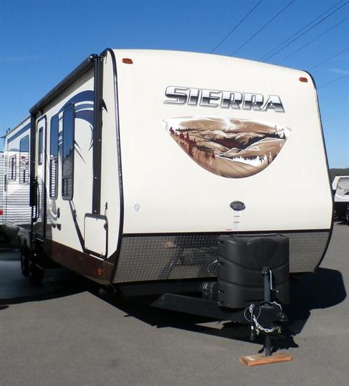 Used 2016 Forest River Sierra 32RE Travel Trailer For Sale