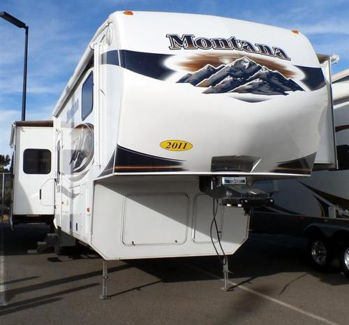 Used 2011 Keystone Montana 3665RE Fifth Wheel For Sale