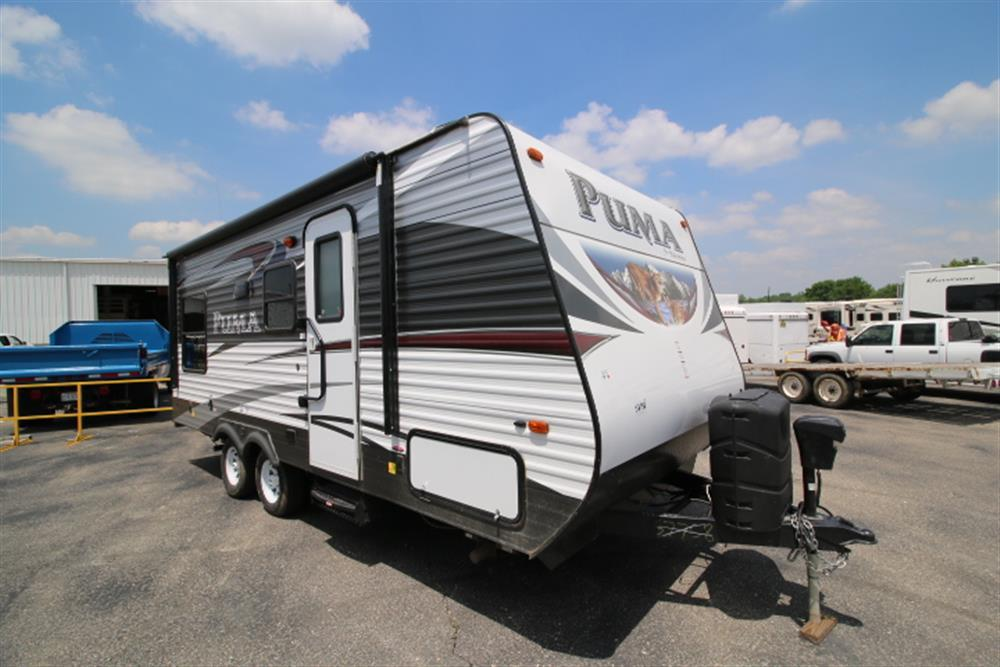 New 2016 Forest River Puma 19rl Travel Trailer For Sale ...