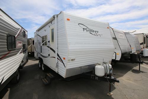 fleetwood pioneer travel trailer floor plans pioneer home