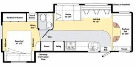 Floor Plan : 2010-WINNEBAGO-31C