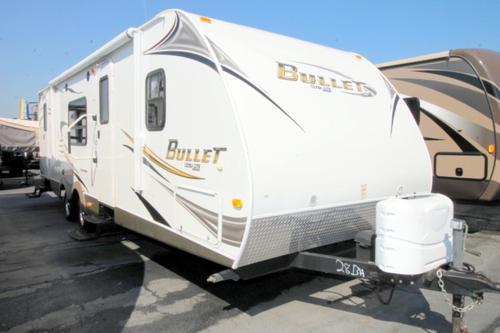 Used 2012 Keystone Bullet 281BHS Travel Trailer For Sale