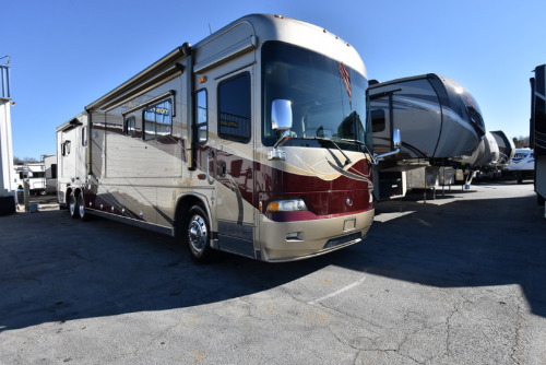 RV : 2007-COUNTRY COACH-SISKIYOU SUMMIT 425 CUMMINS QUAD SLIDE