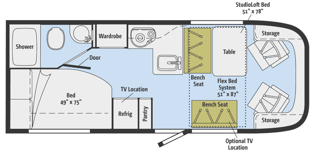 Photo : Rialta Rv Floor Plans Images. Rialta Floor Plans Meze Blog ...
