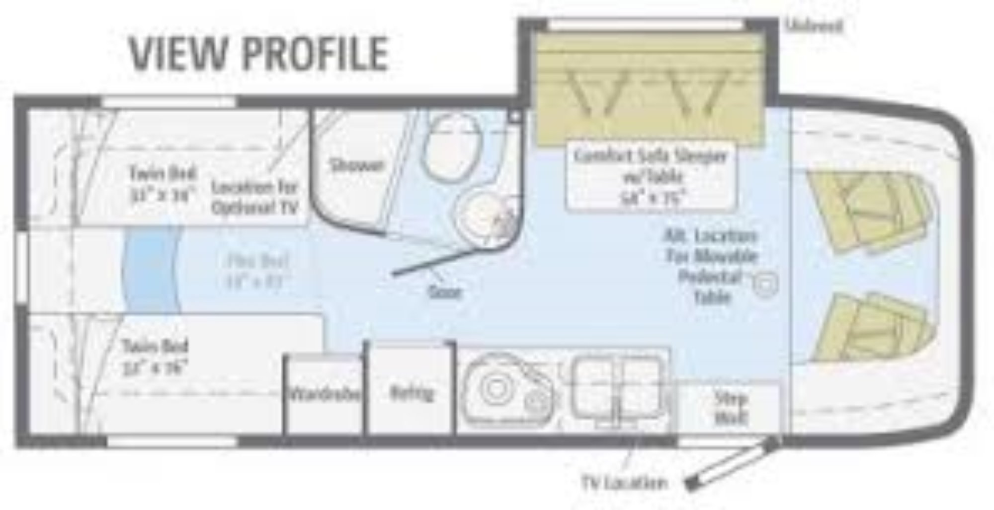 mercedes view rv floor plans html