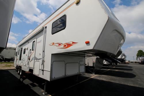 Used 2003 Komfort Karry All 36 Fifth Wheel Toyhauler For Sale