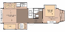 Floor Plan : 2013-FOREST RIVER-29RE
