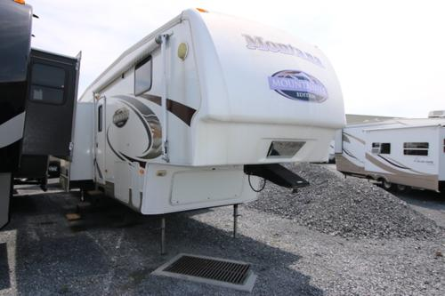 Used 2008 Keystone Mountaineer 347THT Fifth Wheel Toyhauler For Sale