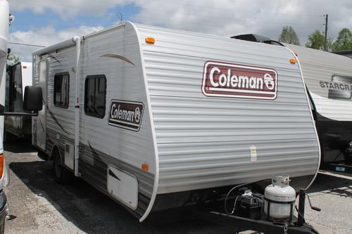 Used 2014 Dutchmen Coleman 16QB Travel Trailer For Sale
