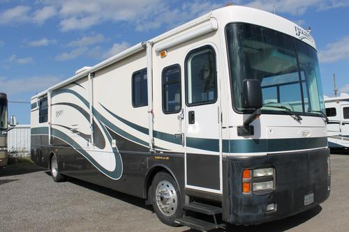 Used 2002 Fleetwood Discovery 37T Class A - Diesel For Sale