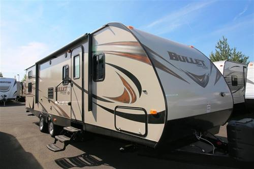 New 2016 Keystone Bullet 287QBSWE Travel Trailer For Sale