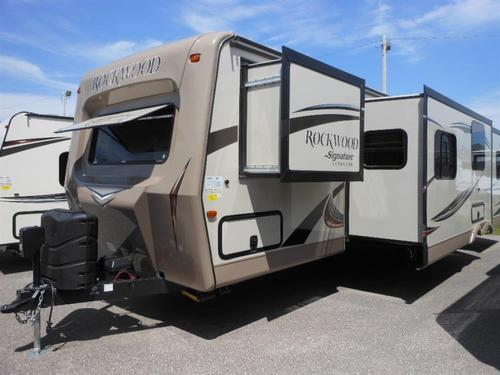 New 2016 Forest River Rockwood Signature Ultra Lite 8311WS Travel Trailer For Sale