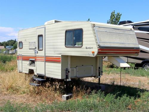 Used 1981 Komfort Komfort 17' Fifth Wheel For Sale