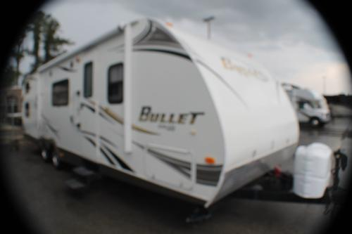 Used 2011 Keystone Bullet 286 QBS Travel Trailer For Sale