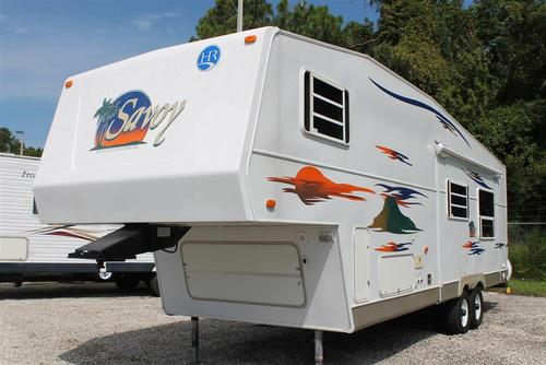 Used 2005 Holiday Rambler Savoy 29RLS Fifth Wheel For Sale
