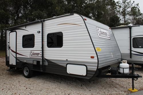 Used 2015 Dutchmen Coleman 16FB Travel Trailer For Sale
