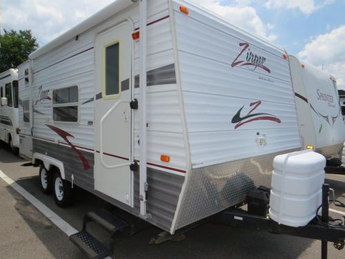 Used 2006 Crossroads Zinger 18BH Travel Trailer For Sale