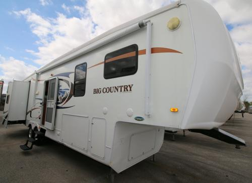 Used 2010 Heartland Big Country 3355RL Fifth Wheel For Sale