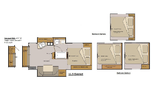 Floor Plan : 2015-HOST-EVEREST