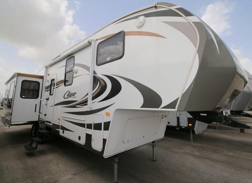Used 2012 Keystone Cougar 327RES Fifth Wheel For Sale