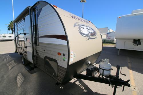 Used 2015 Forest River WOLF PUP 16FQ Travel Trailer For Sale