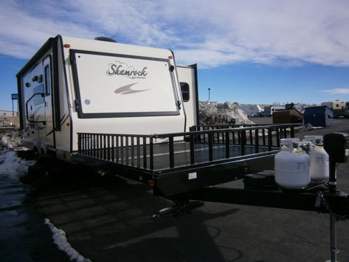 Used 2016 Flagstaff Shamrock 21SSL Travel Trailer For Sale