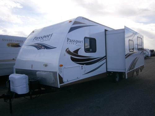Used 2013 Keystone Passport 2510RB Travel Trailer For Sale