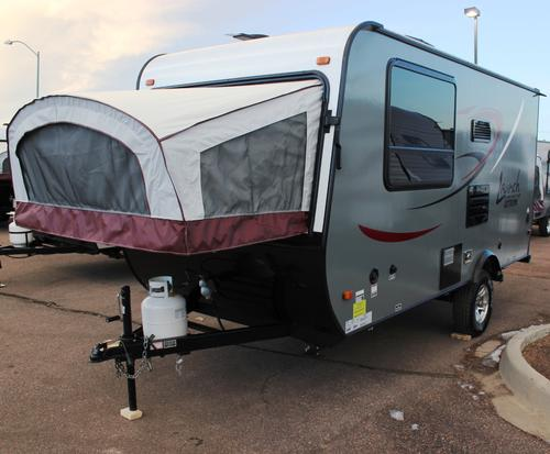 New 2016 Starcraft LAUNCH 16RB Hybrid Travel Trailer For Sale