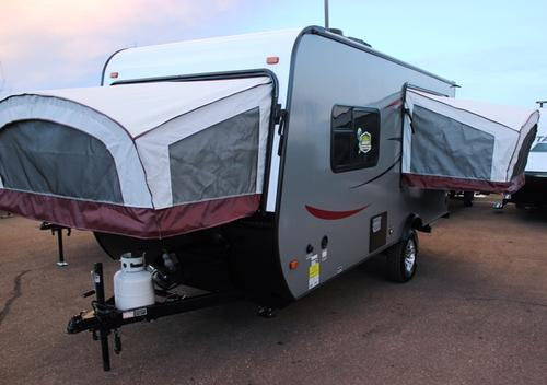 New 2016 Starcraft LAUNCH 17SB Hybrid Travel Trailer For Sale