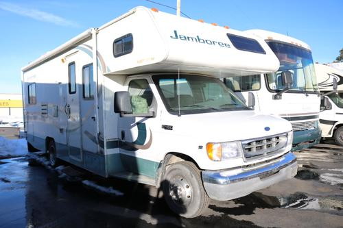Used 2001 Fleetwood Jamboree 26F Class C For Sale