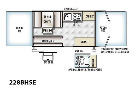 Floor Plan : 2016-FOREST RIVER-228BHSE
