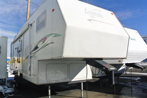 Used 2003 Skyline Layton 297FW Fifth Wheel For Sale