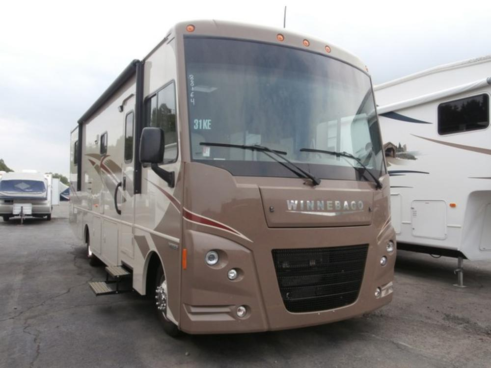 Original Enjoy Traveling The Countryside In This Winnebago Vista Class A 31KE Which Features A Large Single Slide For Added Comfort Step Inside And Notice The Sofa Bed And Ushaped Dinette Slide Straight Ahead Both Feature Seat Belts For