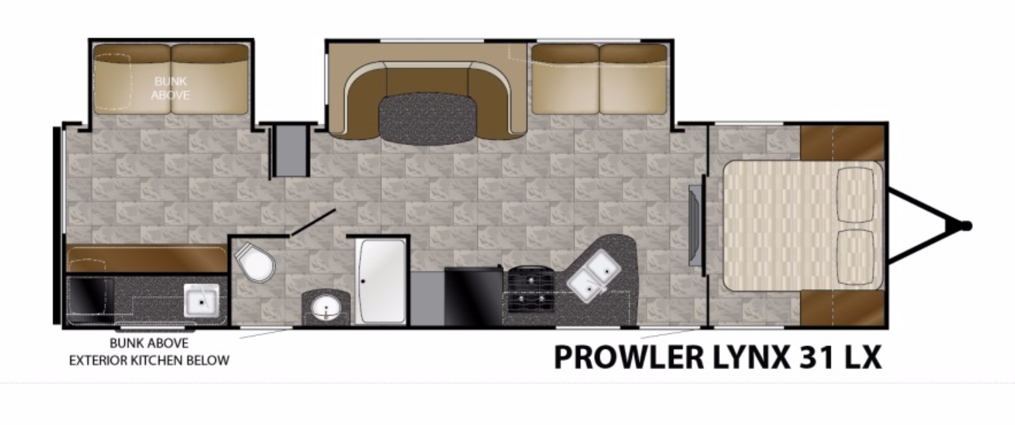 2017 heartland prowler 31lx cing world of conway