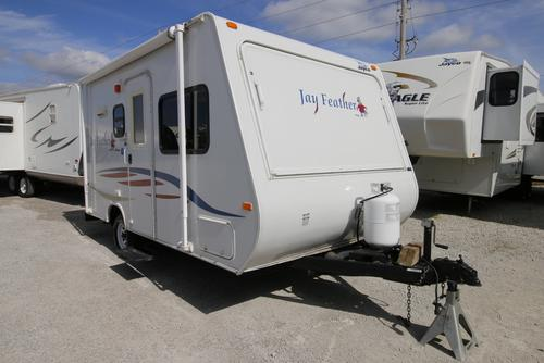 Used 2008 Jayco Jayco 17 EX-PORT Hybrid Travel Trailer For Sale