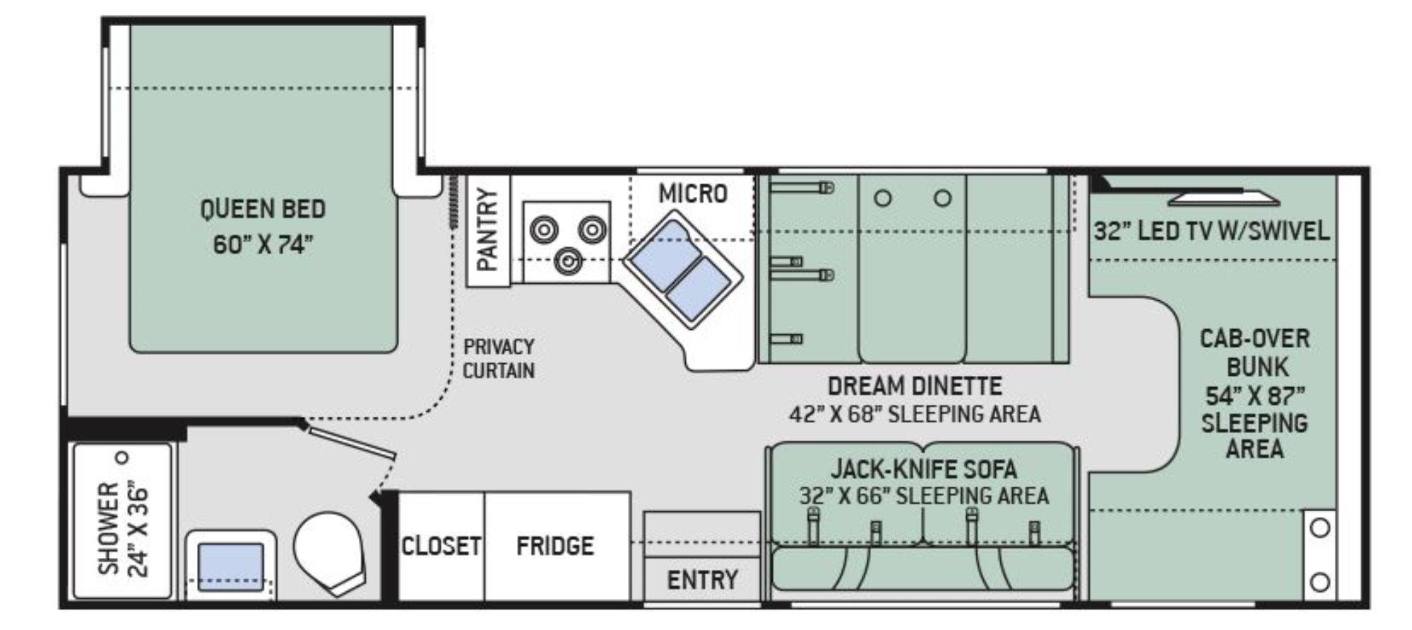 100 prevost floor plans colors prevost country coach for Coach house floor plans