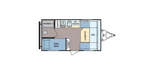 New 2016 Coleman Coleman CTS15BH Travel Trailer For Sale