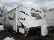 Used 2010 Palomino Puma 25RDS Travel Trailer For Sale