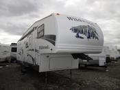Used 2006 Forest River Wildwood LA 296BHS Fifth Wheel For Sale