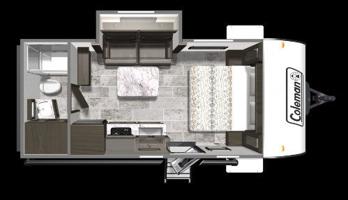 Floor Plan : 2019-COLEMAN-1805RB