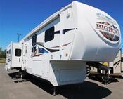 Used 2009 Heartland Bighorn 3670RL Fifth Wheel For Sale