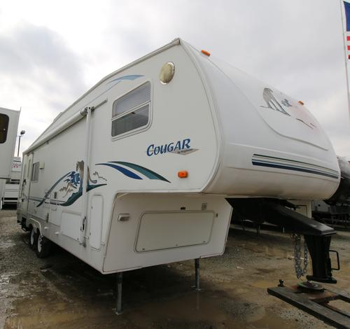 Used 2002 Keystone Cougar 276EFS Fifth Wheel For Sale