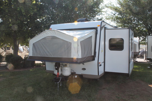 New 2016 Forest River Rockwood Roo 233S Hybrid Travel Trailer For Sale