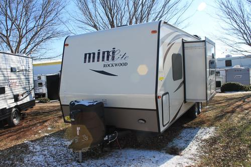 New 2016 Forest River Rockwood Mini Lite 2505S Travel Trailer For Sale